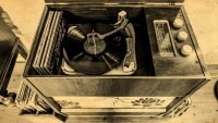 Hen Ffermdy holiday cottage - Radiogram