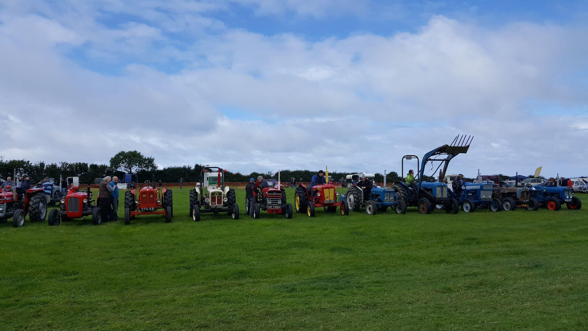 Events in West Wales - Vintage tractor rally