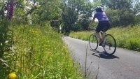 Cycling the lanes in rural Ceredigion