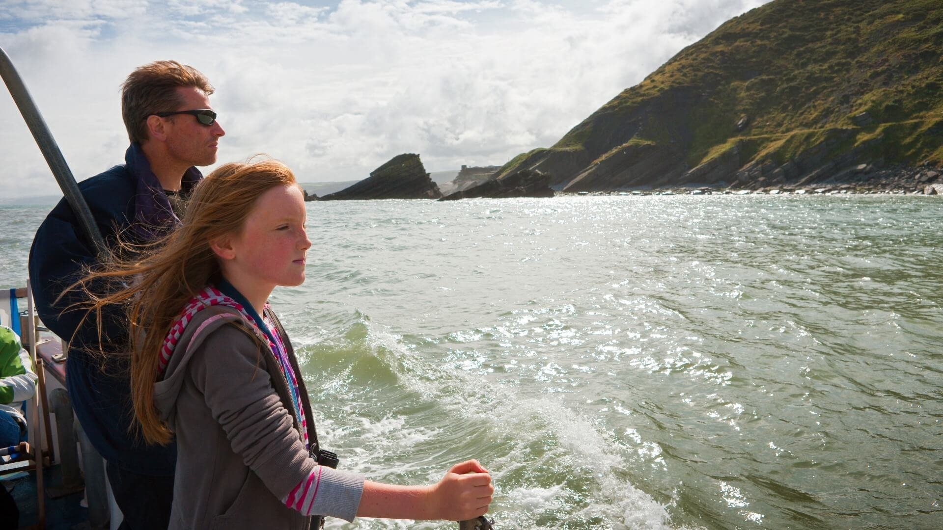 Dolphin Spotting Boat Trip in Cardigan Bay