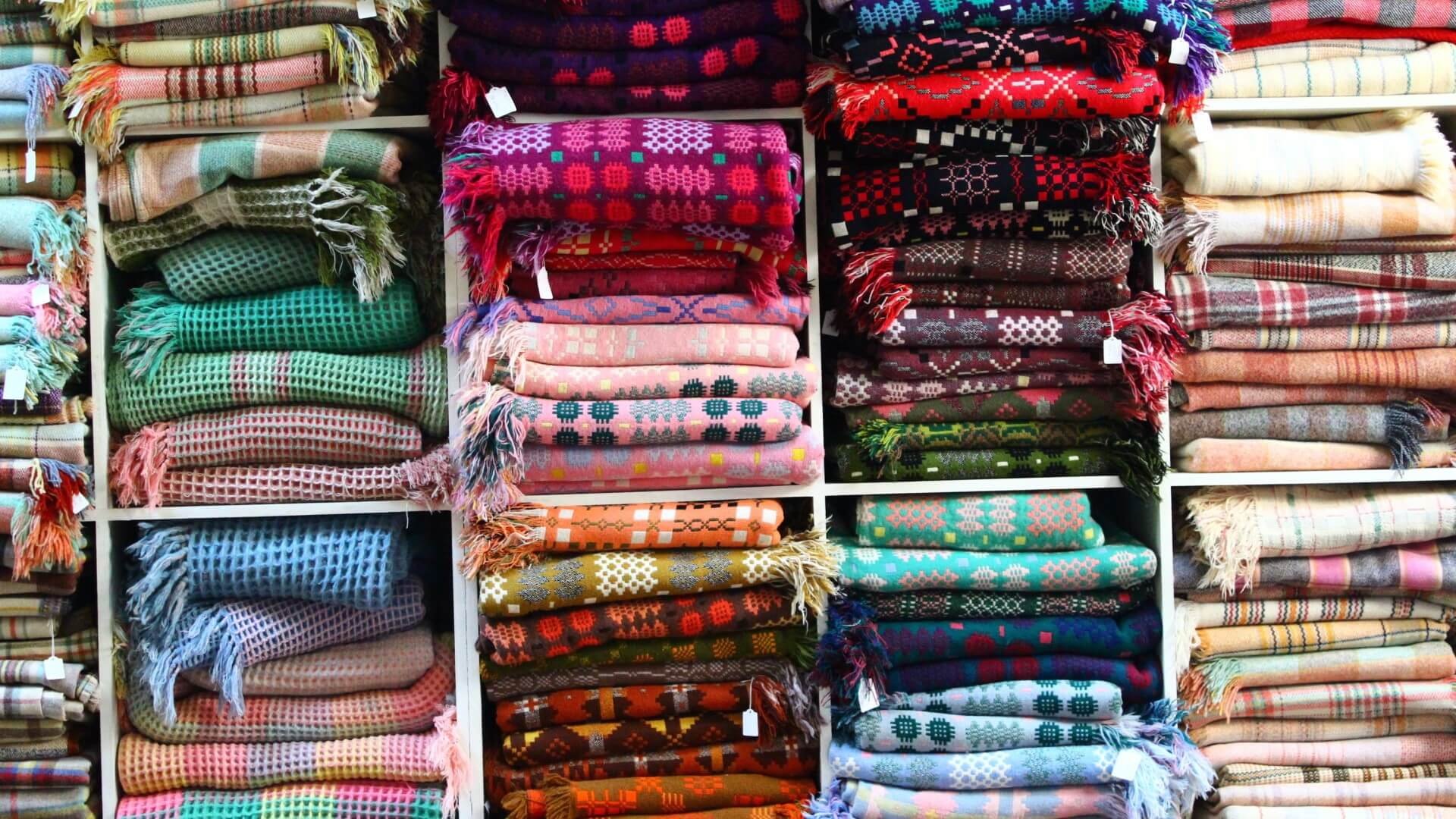 Welsh Blankets at Jane Beck Ty Zinc